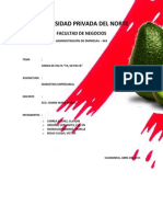Proyecto Marketing CREMA de PALTA