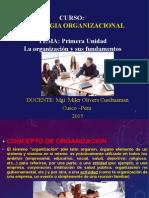 1.- LA ORGANIZACION Y SUS FUNDAMENTOS..ppt