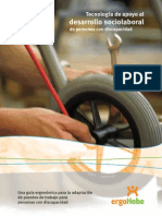 Guia Ergonomica Para Adaptacion de Puestos de Trabajo Para Personas Con Discapacidad