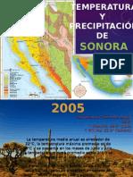 Temperatura y Precipitación Sonora