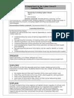 grade 7 cybersmart lesson plan
