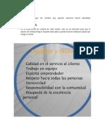 MAESTRO PERU S.a. Objetivos Estrategicos