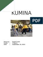 Gariel's Homework - Kumina