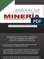 Ley General de Minería Exposicion Completa
