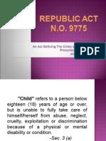 Anti-Child Pornography Act (RA No. 9775