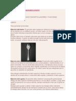 Terapia Miofuncional- Deglución Atipica