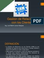 Diapositivas CRM