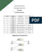 Atividade Estruturada- Modelagem de Sistema