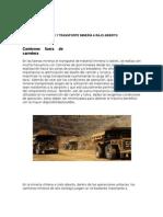 Equipos de Carguío y Transporte Minería a Rajo Abierto