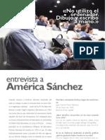 Entrevista a America Sanchez