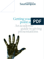 Academic Guide - Getting Your Point Across v4 111109 Web