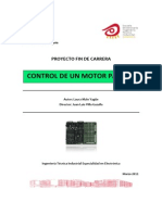 Universidad de Zaragoza Control de Un Motor Paso a Paso