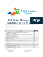 IHotel Information Management System