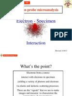 20 E-specimen Interaction