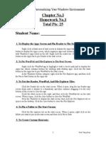 Homework No.3-1