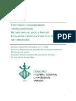 Transtornos y RequerimientosHidroelecroliticos