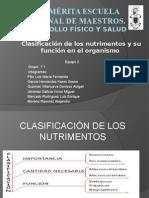 Clasificacion de Nutrimentos (1)