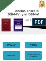 Diferencias Entre El DSM-IV y El DSM-V