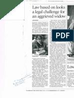 Teresa de Sales Newspaper Clipping