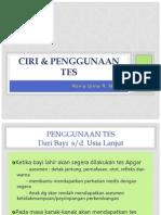Ciri - Penggunaan Alat Tes EPPS