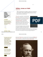 William James on Habit _ Brain Pickings