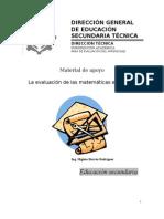 La Evaluación de Las Matemáticas en El Aula