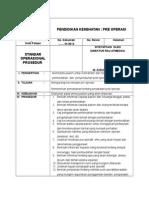 4 1 Sop Pendd Pre Operasi