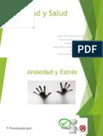 Presentación de Ansiedad y Salud.