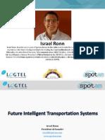 04. Developing Models & Technologies of Urban Intelligent Transportation Systems_Isarel Ronn _ Spotam_Smart City 2015