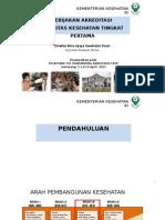 PPT Dir Pelatihan  TOT Pendamping Akreditasi FKTP Angkt II, edit Taufiq 3 Apr 2015.ppt