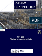 API 570 Piping Inspection