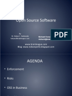Presentation on Open Source Software