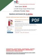[FREE]exam Latest 352-001 VCE 31-40