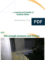 Processing of Soyameals