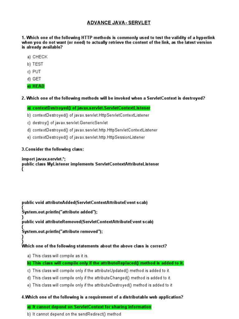 servlet implements singlethreadmodel