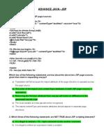 Sample Questions Advance Java-jsp