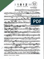 1812 OVERTURE TCHAIKOVSKY ARR IZQUIERDA - Clarinete Pral