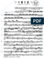 1812 OVERTURE TCHAIKOVSKY ARR IZQUIERDA - Clarinete Primero