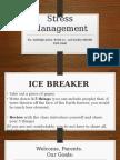 stress management pp