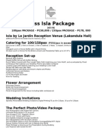 Bliss Isla Packages