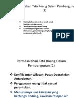 permasalah antata ruang dalam pembangunan.pdf