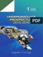 UMP Prospectus 2014-2015