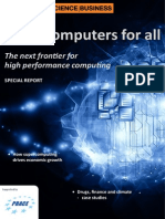 HPC Supercomputer Report October 2013