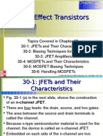 Chapter 30 Field Effect Transistors