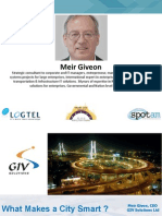 09. What Makes a City Smart Real Live Example Meir Givon_GIV Goup_Smart City 2015