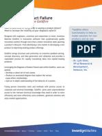 Diagnose a Product Failure Tasksheet Diagnoseproductfailure 2010
