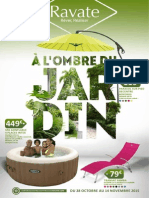 "Catalogue Ravate ""A l'ombre du Jardin"""