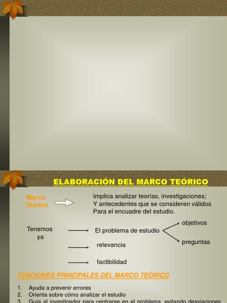 Marco Teórico, Estado Del Arte