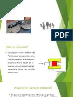Presentacion Extrusion de aluminio y plasticos