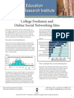 Socialnetworking Reference (Higher Education)